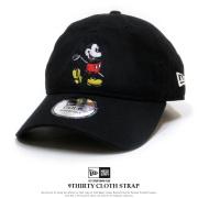 NEW ERA ニューエラ カーブバイザーキャップ 9THIRTY ミッキーマウス ブラック × キャラクターカラー 11901114