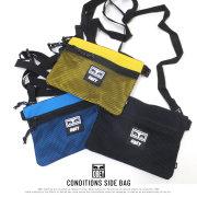 OBEY オベイ サコッシュ CONDITIONS SIDE BAG 100010110