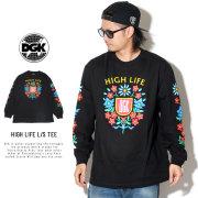 DGK ディージーケー 長袖Tシャツ HIGH LIFE L/S TEE PTL-1083
