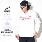 STAPLE ステイプル バーシティジャケット COCA COLA BASEBALL JACKET 1901O5189