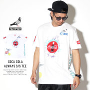 STAPLE ステイプル 半袖Tシャツ COCA COLA ALWAYS S/S TEE 1902C5320