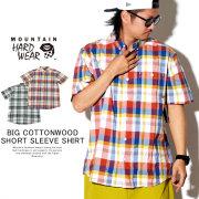 MOUNTAIN HARD WEAR マウンテンハードウェア 半袖シャツ BIG COTTONWOOD SHORT SLEEVE SHIRT OM7468