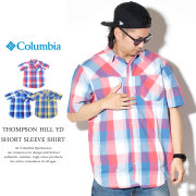 COLUMBIA コロンビア 半袖シャツ チェック柄 THOMPSON HILL YD SHORT SLEEVE SHIRT AE0125