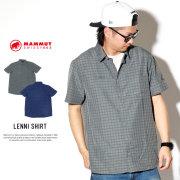 MAMMUT マムート 半袖シャツ LENNI SHIRT 1015-00300