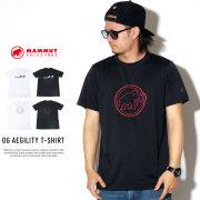 MAMMUT マムート 半袖Tシャツ OG AEGILITY T-SHIRT 1017-10062
