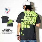MISHKA ミシカ 半袖Tシャツ DESTROY MEMORIES TEE MSS190023