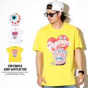 MISHKA ミシカ 半袖Tシャツ POPCOUPLE KEEP WATCH TEE MSS190043