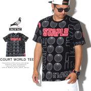 STAPLE ステイプル 半袖Tシャツ COURT WORLD TEE 1904C5607