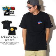 NEW ERA ニューエラ 半袖Tシャツ コットン Tシャツ DRAGONBALL ドラゴンボール フラッグロゴ ブラック 12110844