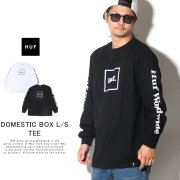 HUF ハフ 長袖Tシャツ DOMESTIC BOX L/S TEE TS00146
