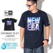 NEW ERA ニューエラ 半袖Tシャツ パフォーマンス Tシャツ シティーランドスケイプ スクエア ニューエラ ブラック 12108168