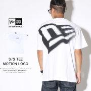NEW ERA ニューエラ 半袖Tシャツ コットン Tシャツ モーションロゴ ホワイト 12108173