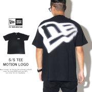 NEW ERA ニューエラ 半袖Tシャツ コットン Tシャツ モーションロゴ ブラック 12108174