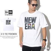 NEW ERA ニューエラ 半袖Tシャツ コットン Tシャツ ポケモン スクエア ニューエラ ホワイト 12110830