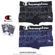 CHAMPION チャンピオン ボクサーパンツ バブルフォント 立体成型 SEAMLESS BOXER BRIEF CM6-P105