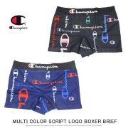 CHAMPION チャンピオン ボクサーブリーフ MULTI COLOR SCRIPT LOGO BOXER BRIEF CM6-Q103
