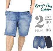 b系ストリート系メンズファッション通販 BROWN BAG LIQUOR ロングデニム BBL-PT1406