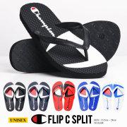 "Champion チャンピオン ビーチサンダル メンズ レディース FLIP ""C: SPLIT ロゴ ストリート系 ヒップホップ ファッション 靴 通販"