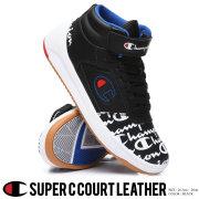 チャンピオン Champion スニーカー メンズ ハイカット ロゴ ストリート系 ヒップホップ ファッション CM100162M 靴 通販