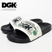 DGK ディージーケー シャワーサンダル メンズ ストリート系 スケーター ヒップホップ ファッション Currency Slide DFS-04 DGFT002