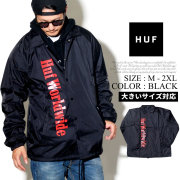 HUF ハフ コーチジャケット メンズ スケーター ストリート系 ファッション 服 通販 JK00085 FHJT008