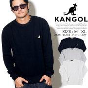 KANGOL カンゴール トレーナー メンズ ミニ カンガルー ロゴ ストリート系 ヒップホップ ファッション 服 通販 LCK0020
