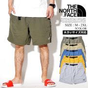 THE NORTH FACE ザノースフェイス ベルト付 ハーフパンツ メンズ 大きいサイズ ロゴ ストリート系 アウトドア ファッション NF0A3T2K 服 通販