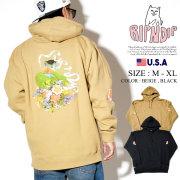 RIPNDIP リップンディップ パーカー メンズ 猫 ネコ 花 ストリート系 ファッション Flower Burst Hoodie 服 通販