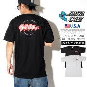 Santa Cruz サンタクルーズ Tシャツ 半袖 メンズ 大きいサイズ バックプリント スケーター スケボー ストリート系 スケートファッション 44154352 服 通販