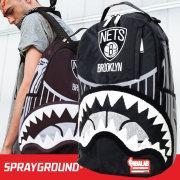 SPRAY GROUND スプレイグラウンド バックパック リュックサック メンズ レディース NBA BROOKLYN NEST ブルックリン・ネッツ ヒップホップ ストリート ファッション 鞄 通販 SOBT014