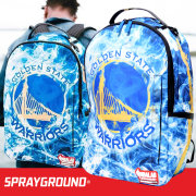 SPRAY GROUND スプレイグラウンド バックパック リュックサック メンズ レディース NBA ゴールデンステイト ウォーリアーズ ヒップホップ ストリート ファッション 鞄 通販 SOBT015
