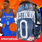 SPRAY GROUND スプレイグラウンド バックパック リュックサック メンズ レディース NBA LAB デニム生地 ヒップホップ ストリート ファッション 鞄 通販 SOBT016