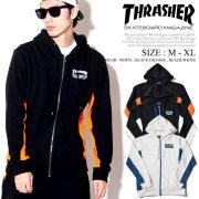 THRASHER スラッシャー ジップパーカー メンズ スウェット ストリート系 スケーター ファッション 通販 TH5096 TSPT062