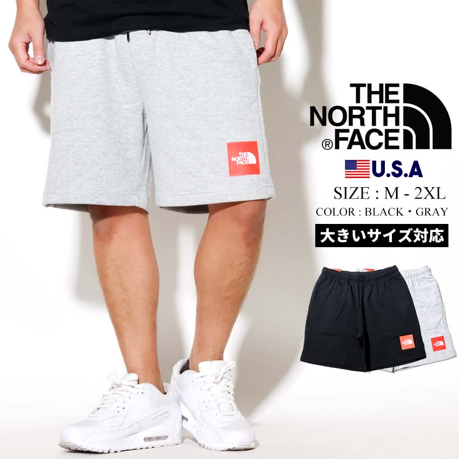 THE NORTH FACE ザノースフェイス ハーフパンツ メンズ ボックス ロゴ Men's Never Stop Short NF0A4AAG