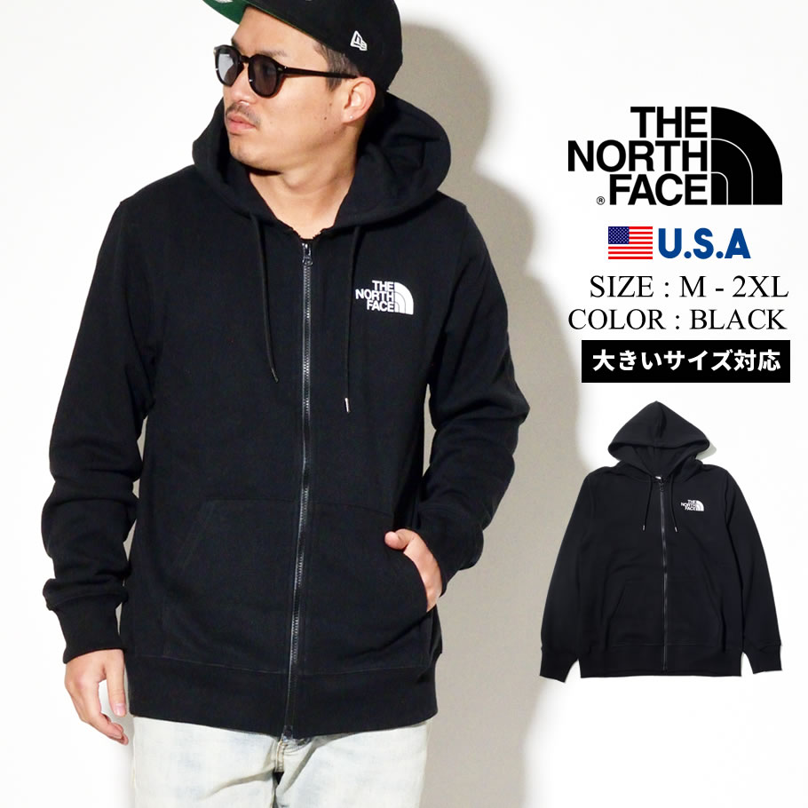 THE NORTH FACE ザノースフェイス ジップパーカー メンズ ロゴ Mens Half Dome Full Zip Hoodie NF0A4M4D