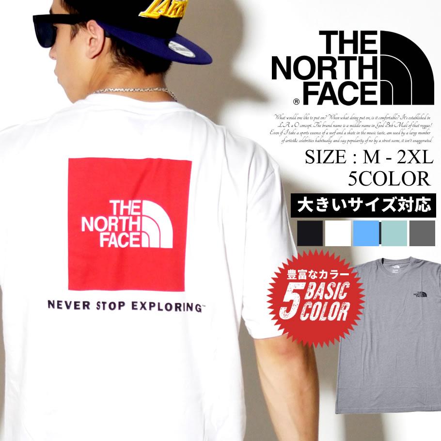 THE NORTH FACE ザノースフェイス 半袖 Tシャツ メンズ ボックスロゴ NF00CA0F NFTT006