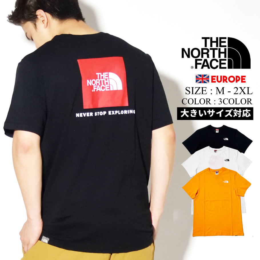THE NORTH FACE ザ ノース フェイス Tシャツ メンズ 半袖 レッドボックス ロゴ REDBOX TEE NF0A2TX2