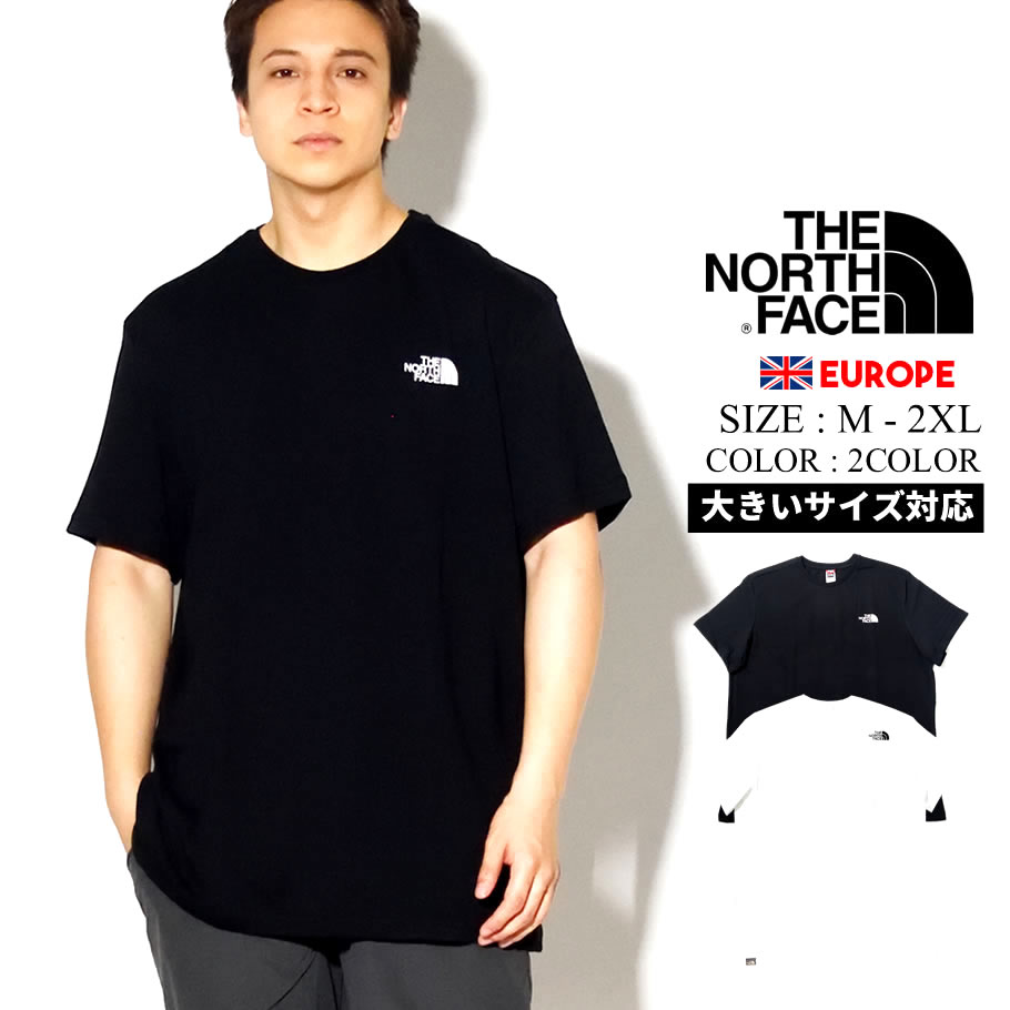 THE NORTH FACE ザ ノース フェイス Tシャツ メンズ 半袖 ロゴ SIMPLE DOME TEE NF0A2TX5
