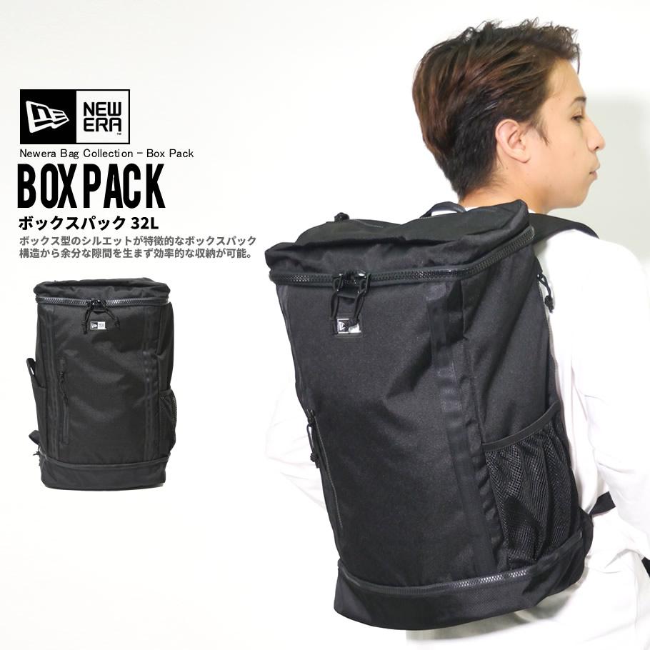 NEW ERA ニューエラ バックパック ボックスパック 32L ブラック 鞄 11783343