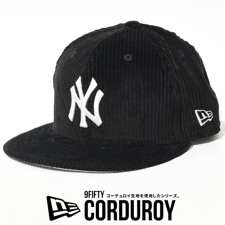 NEW ERA ニューエラ キャップ 9FIFTY コーデュロイ ニューヨーク ヤンキース NYロゴ 帽子 12540596