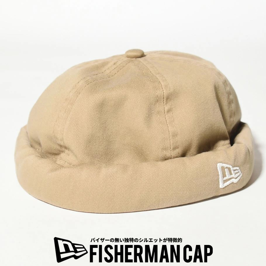 ニューエラ キャップ 帽子 メンズ レディース NEW ERA フィッシャーマンキャップ ウォッシュドコットン カーキ 12653637
