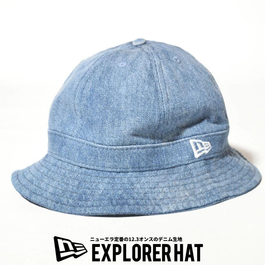 ニューエラ ベルハット 帽子 メンズ レディース NEW ERA エクスプローラー ウォッシュドデニム 12653644
