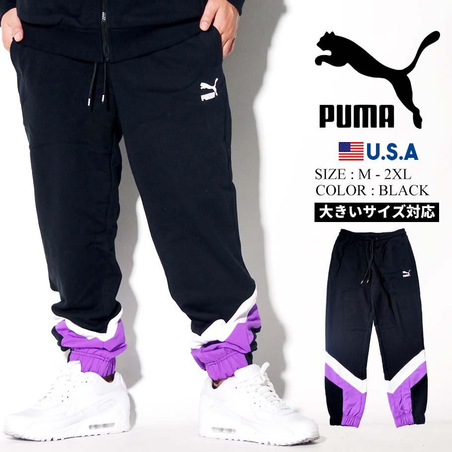 PUMA プーマ ジャージ トラックパンツ メンズ 大きいサイズ ロゴ スポーツ ストリート系 ファッション 595302 服 通販