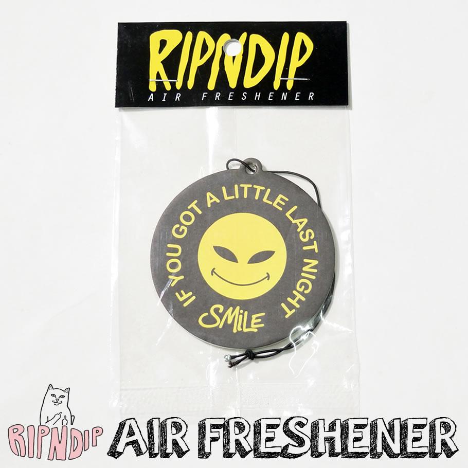 ripndip リップンディップ エアーフレッシュナー 車 猫 ネコ ストリート系 ファッション RND0691SA 芳香剤 通販