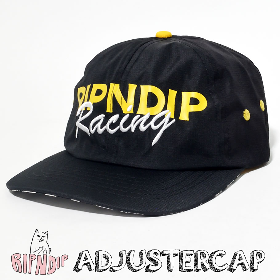 ripndip リップンディップ スナップバックキャップ メンズ レディース ネームロゴ ストリート系 ファッション RND3782 帽子 通販
