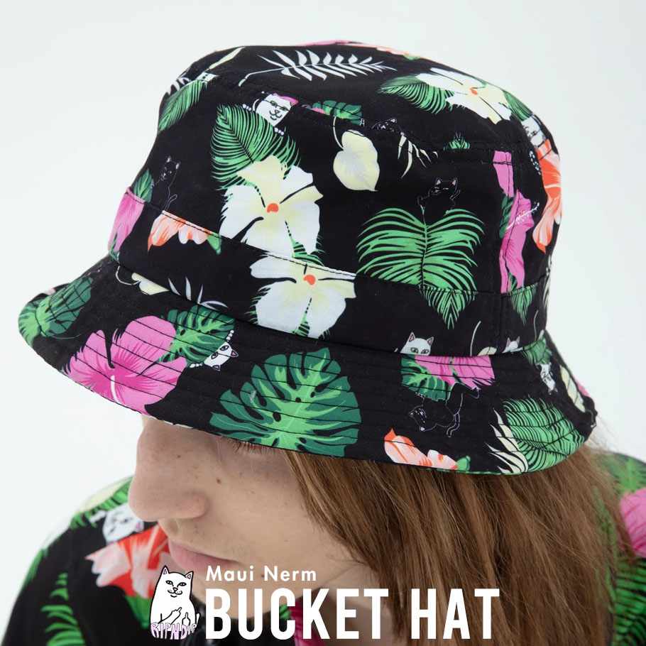 RIPNDIP リップンディップ バケットハット Maui Nerm Bucket Hat RND4376