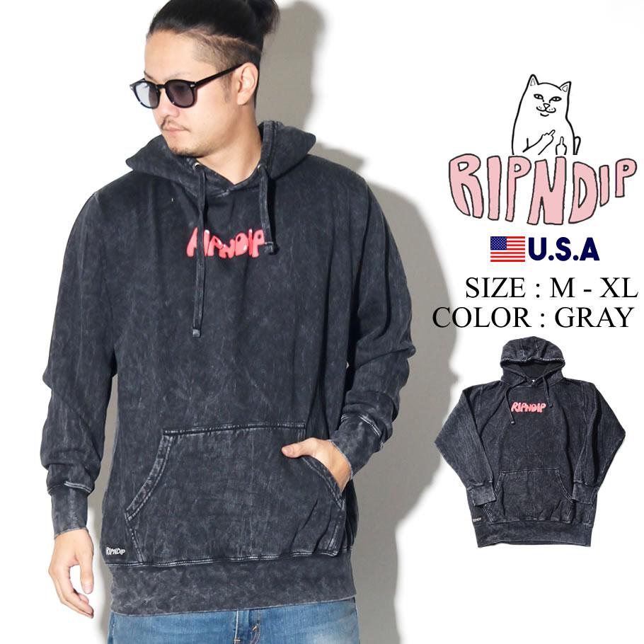 ripndip リップンディップ パーカー メンズ ロゴ 猫 ねこ 女性 ストリート系 ファッション RND3719 服 通販
