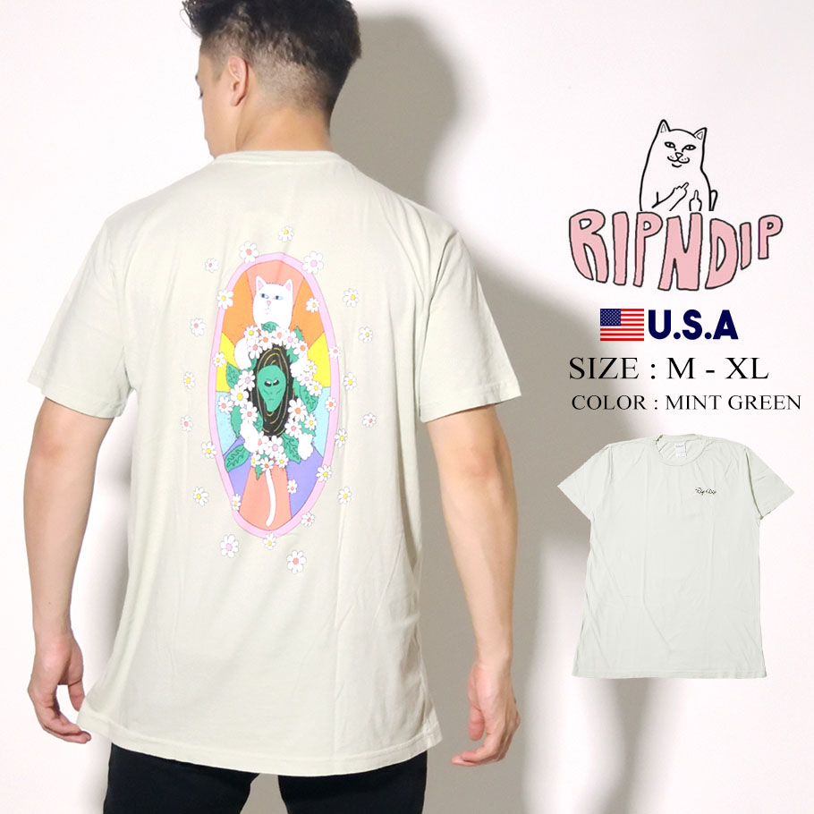 RIPNDIP リップンディップ Tシャツ 半袖 Mosaic Tee RND4348