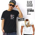 BLACK KAVIARTシャツ GEMMA