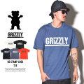 GRIZLLY グリズリー 半袖TEEシャツ OG STAMP LOGO TEE ZOOGPA98 6V1202